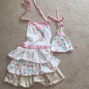 Me & my doll's apron set